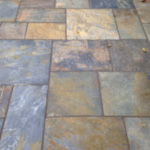Bradstone Vijaya natural slate patio
